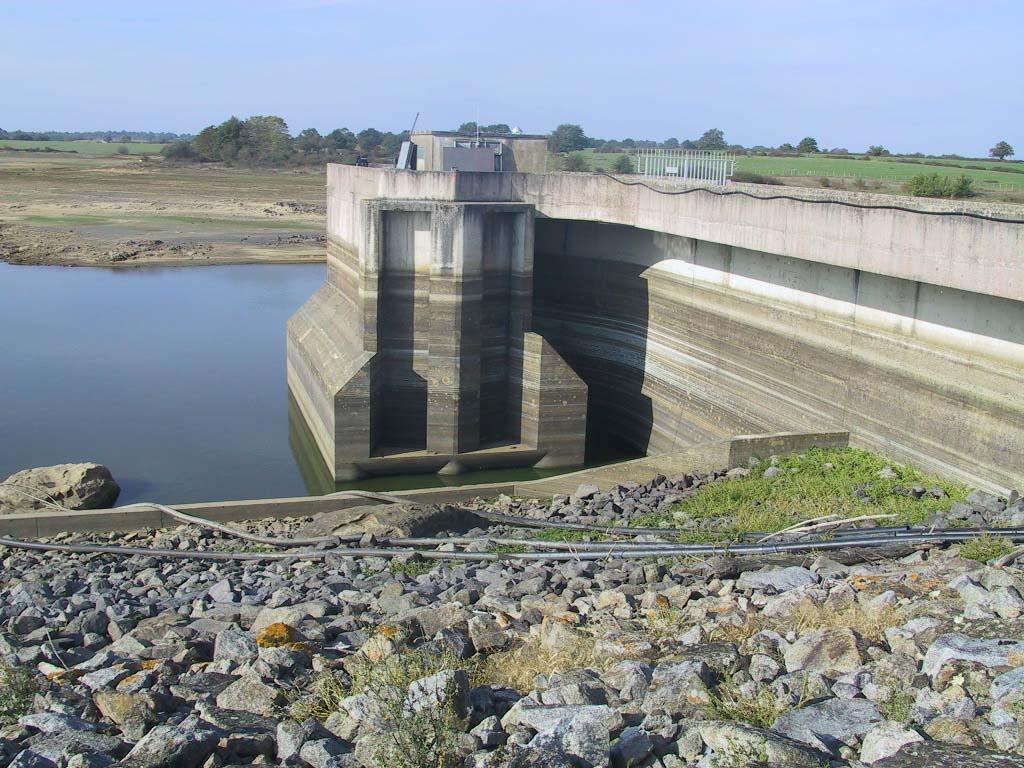 Le barrage du Cébron